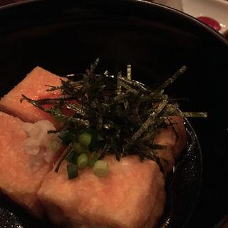 揚げ出し豆腐(沖縄家庭料理 残波の風 (ザンパノカゼ))