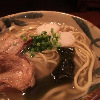 ソーキそば(沖縄家庭料理 残波の風 (ザンパノカゼ))