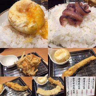 天ぷら定食(天ぷらまきの センタープラザ店)
