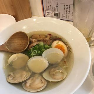 ハマグリラーメン(らーめん キング )