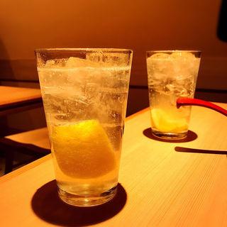 レモンサワー(二◯加屋長介 中目黒店)