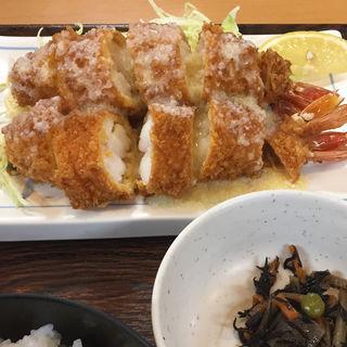 えびフライ定食(とんかつ ユー )