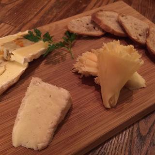 チーズ盛り合わせ(神田ワイン食堂パパン (PAPIN))
