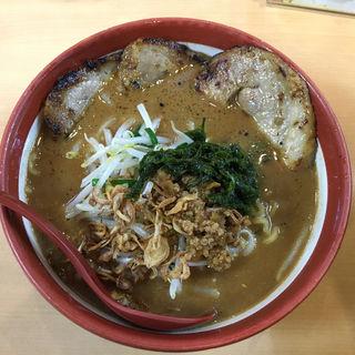 伊勢味噌 炙りチャーシュー麺(蔵出し味噌 麺場 田所商店)