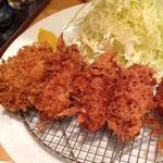 カキフライ定食(ポンチ軒 )