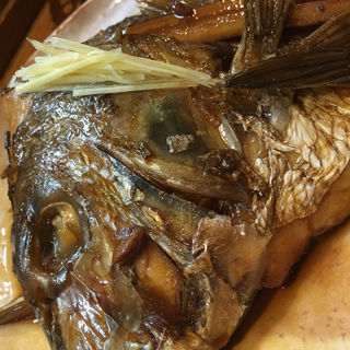 鯛のあら煮(食事処遊喜 )