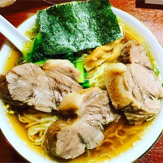 チャーシュー麺(らぁめん 蔵持)