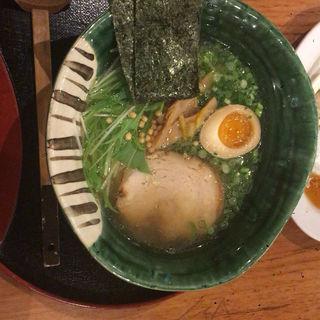 柚子塩ラーメン(よなき家本店 (よなきやほんてん))