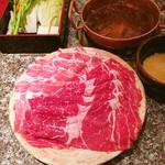 牛豚ミックス定食 (ダブル)
