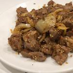 ラム肉のクミン風炒め(味坊 (アジボウ))