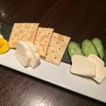 クリームチーズの自家製味噌漬