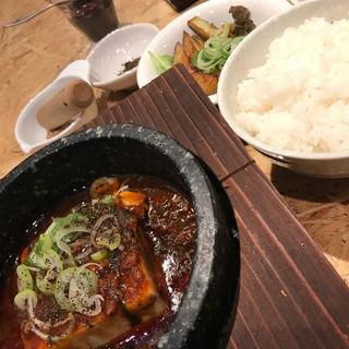 麻婆豆腐セット(ごまる )