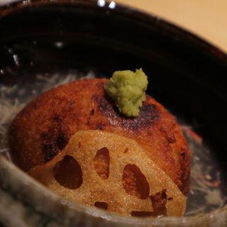加賀れんこん饅頭(厨 しんさく)