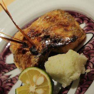 のど黒塩焼(厨 しんさく)