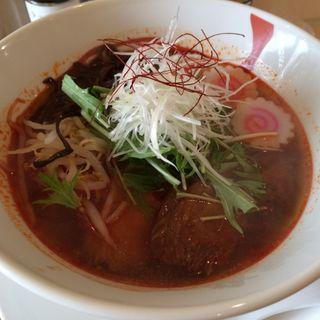 辛味ナルトラーメン4辛(麺ダイニング NARUTO)