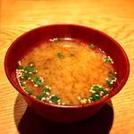 大しじみ味噌汁