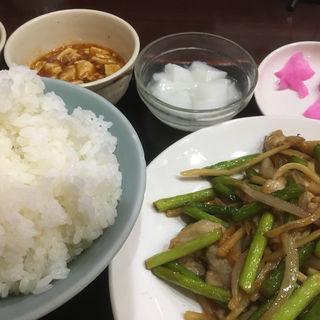 【C定食】一品料理ライススープ小鉢豆腐おしんこ(中華レストラン太郎 )
