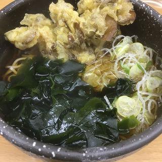 舞茸天蕎麦(葛西めんや)
