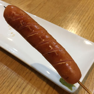 あらびきウインナー串(焼鳥 十蔵 舞松原店)