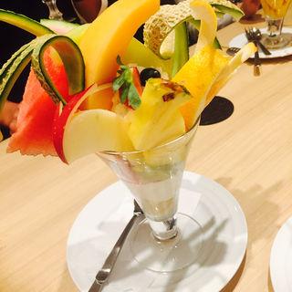 フルーツパフェ(果実園 東京店 )