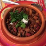 豆とひき肉のスパイス煮込み