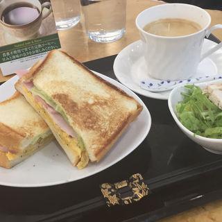 ホットサンドイッチ モーニング(オデッタ辻)