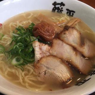 梅白醤油ラーメン(らー麺 藤平尼崎大西店 (らーめん とうべい))
