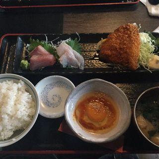 雲丹醤油卵付ランチ(具魯烏葡 浜松町店 (グロウブ))