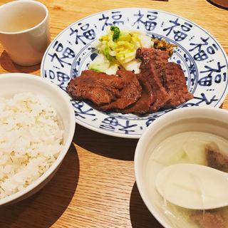 牛たん2種盛り定食(たん之助 )