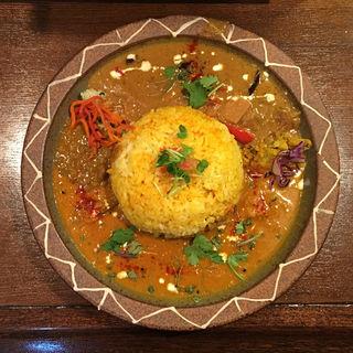 南インド海老カレー&ベトナムチキンカレー(Trippin Spice)