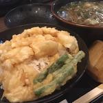 ミニ小えび天丼定食