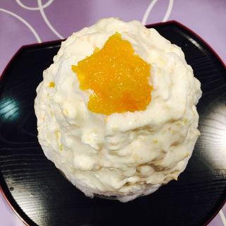 香り高き柚子クリーム(雪うさぎ )