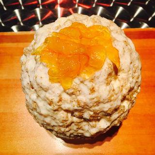 白ごまみるくチーズ(かき氷喫茶 バンパク )