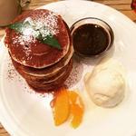 ティラミスパンケーキ(BURN SIDE ST CAFE (バーンサイドストリートカフェ))