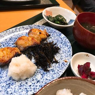 銀ムツ定食(あじ )