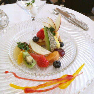 ケーキセット(マッシモ・マリアーニ (Massimo mariani))