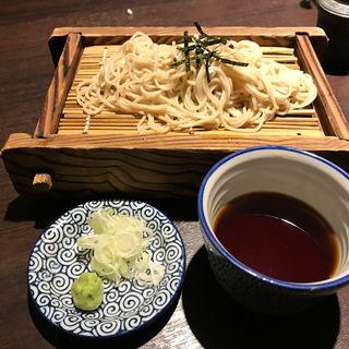 ざる蕎麦(そば居酒屋 満月 女子大店 )