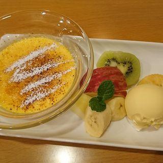クリームブリュレ(クロックカフェ (CLOCK Cafe))