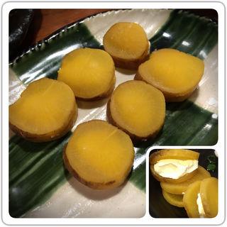 燻製たくあんクリームチーズ(三間堂 丸の内店 (さんげんどう))