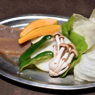 野菜盛合せ(焼肉一番 )