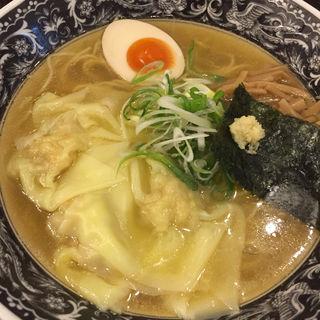 生姜塩ラーメン(麺処 中村屋)