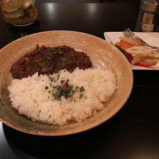 鶏と生姜の煮込み薬膳カレー(DiningBar Hidden Lounge 麻布十番 (ダイニングバー ヒドゥンラウンジ))