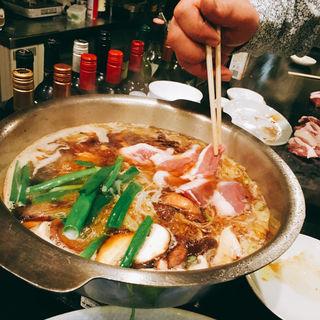 鴨鍋(天満鴨バル ねぎま)