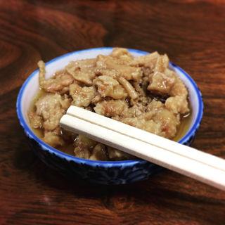 鳥皮の生姜煮(鳥房 (とりふさ))