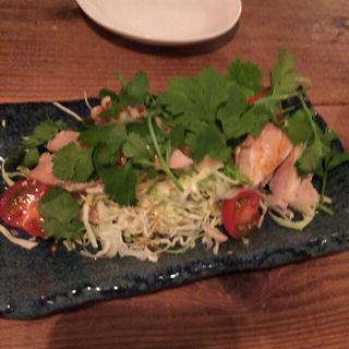 蒸し鶏パクチーまみれ(Thai Dining nana (タイダイニングナナ))