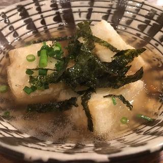 揚げ豆腐あんかけ(ウドンバー カイネ)