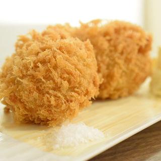 ミンチポテトコロッケセット(洋食・ワイン フリッツ )