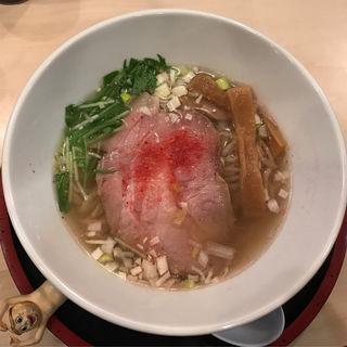 鶏と鯛の塩そば(清麺屋)