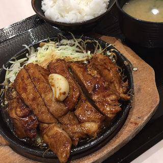 トンテキ定食(豚屋とん一 イオンモールりんくう泉南店 )