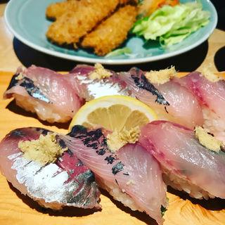 鯵寿司(うおがし )